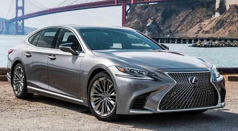Lexus LS 500 2018, prueba de manejo y video, Lexus LS 500 2018 test drive, Lexus