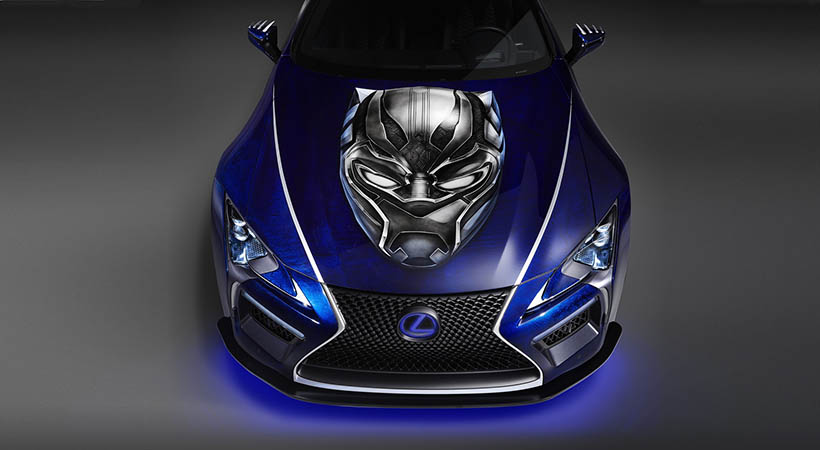 Lexus LC Inspiration Series 2018, The Black Panther Inspired Lexus LC, SEMA Show, Lexus