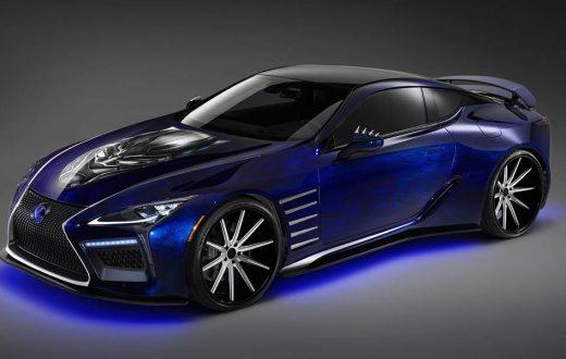 The Black Panther Inspired Lexus LC, inspiración de superhéroes