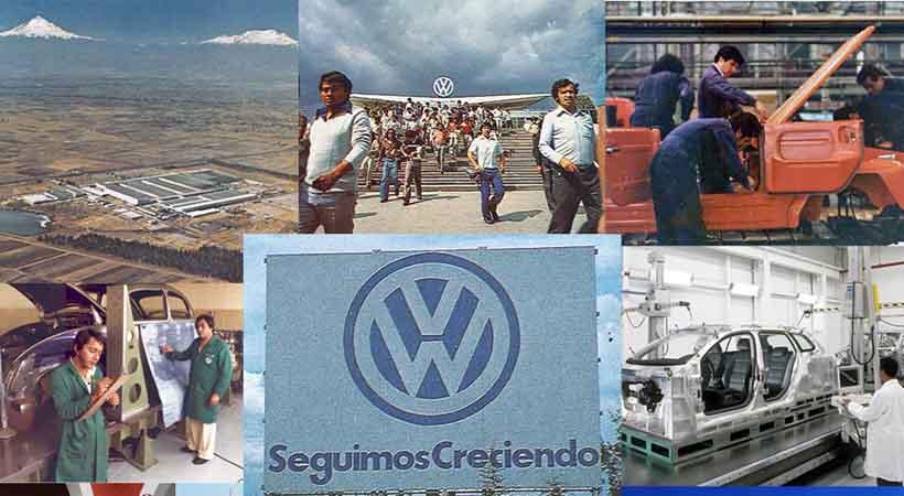Planta Volkswagen de Puebla, Volkswagen de México, historia de Volkswagen, Volkswagen Puebla, producción Volkswagen Puebla