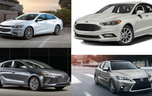 Autos que gastan menos combustible