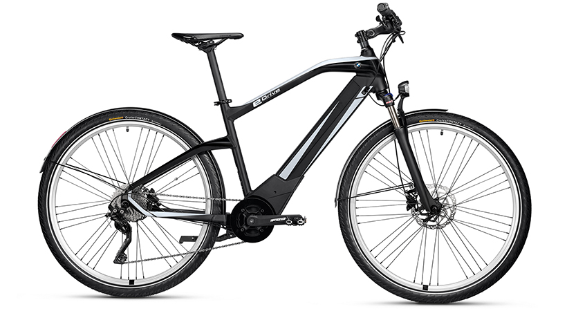 BMW Active Hybrid, bicicleta eléctrica