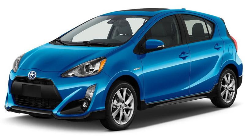 Autos que gastan menos combustible: Toyota Prius C