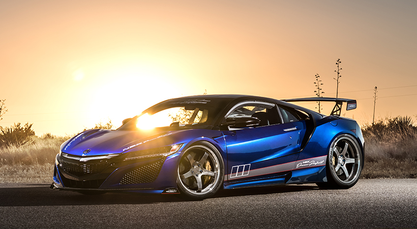 """""""Dream Project"""" NSX by ScienceofSpeed"""