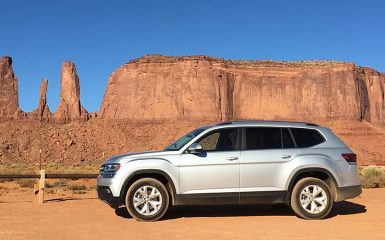 Volkswagen Road Trip en Arizona con la Atlas y Tiguan 2018