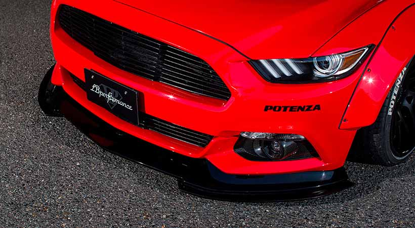 Ford Mustang 2018 por Liberty Walk, tuning japonés, Ford Mustang 2018 modificado