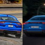 Kia Stinger GT vs Porsche Panamera