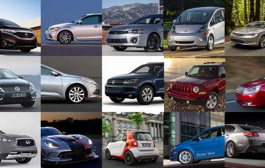 Top 15 autos descontinuados para 2018
