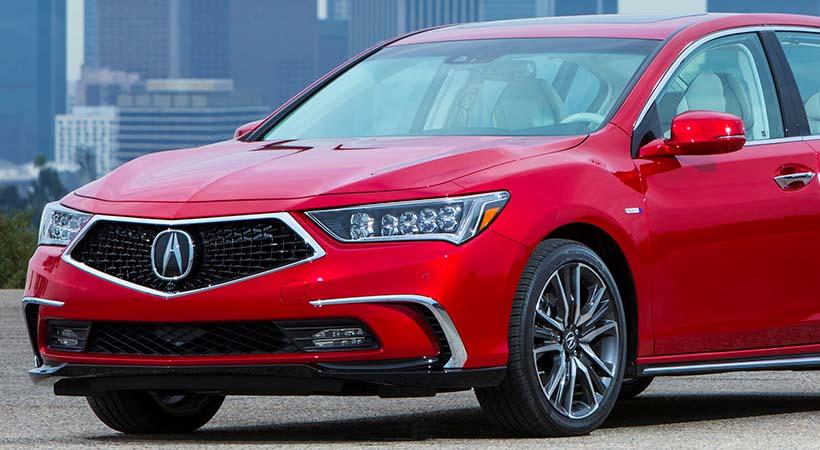 Acura Rlx 2018 Precio Versiones Y Equipamiento En