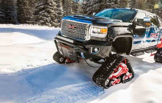 GMC Sierra 2500 All Mountain concept, invierno 2017