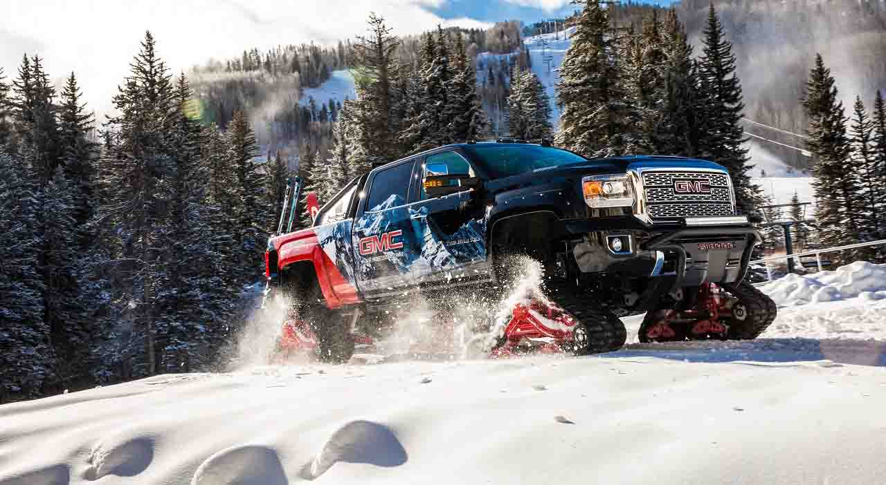 GMC Sierra 2500HD All Mountain concept, invierno 2017