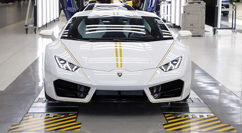 Lamborghini Huracán RWD del Papa Francisco