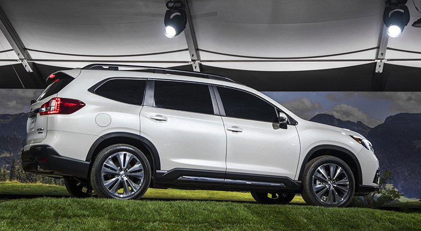 Subaru Ascent 2019 debut a lo grande en Los Angeles