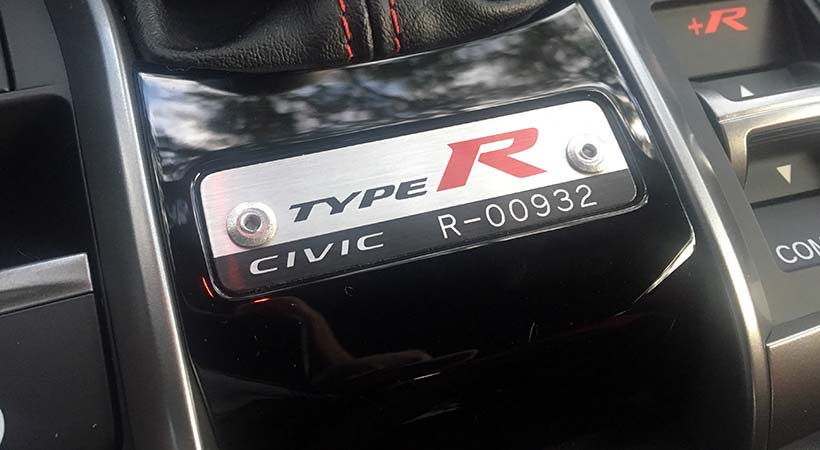 Honda Civic Type R R00932
