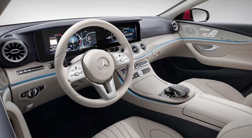 Mercedes-Benz CLS Coupé 2018, Auto Show Los Ángeles 2017, Mercedes-Benz