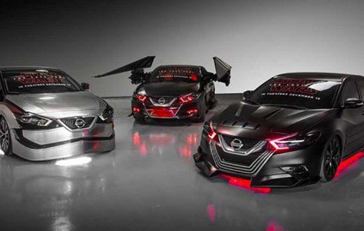 Nissan presenta 6 autos inspirados en El Último Jedi