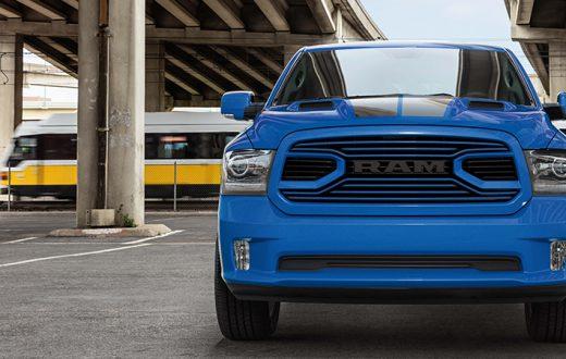 Ram 1500 Hydro Blue Sport 2018