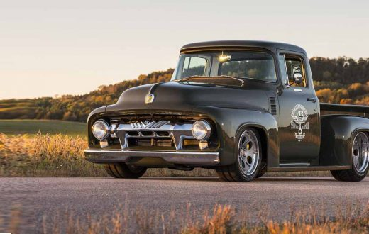 "Ford F100 1956 ""Clem 101"", Ringbrothers, Pickup Ford, Ford Pickup classic"