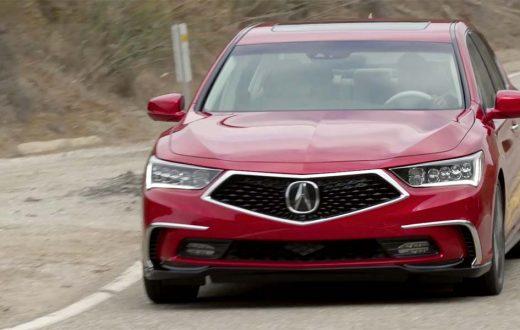 Test Drive Acura RLX Sport Hybrid 2018