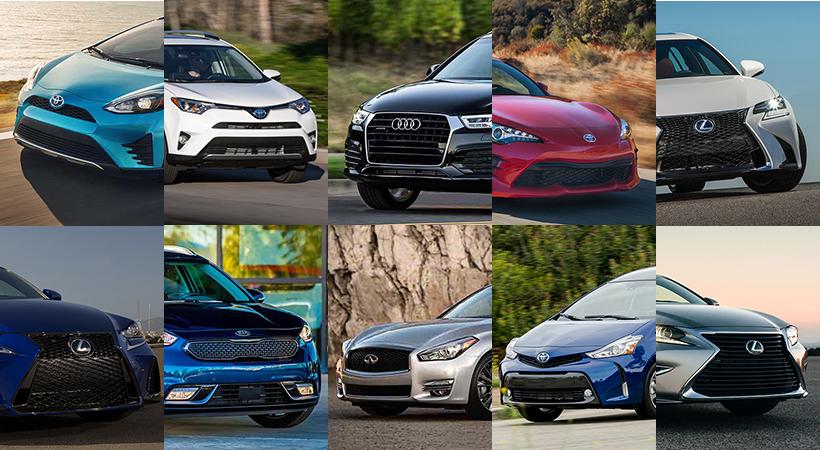 Top 10 Autos 2017 Más Confiables