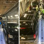 autos blindados del presidente Trump