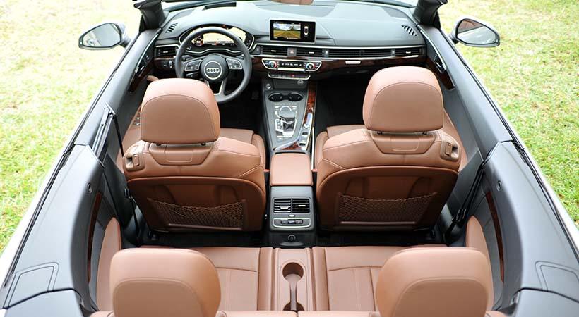 Test Drive Audi A5 Cabriolet 2018