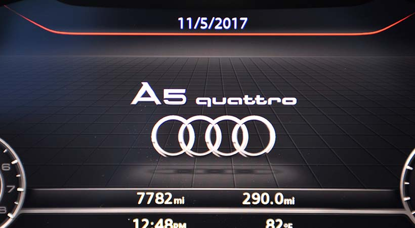 Test Drive Audi A5 Cabriolet 20178