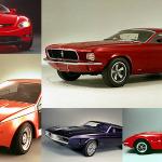 Ford Mustang que no fueron