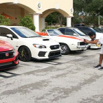 Honda Civic Type R R00932 en Cars and Coffee Miami