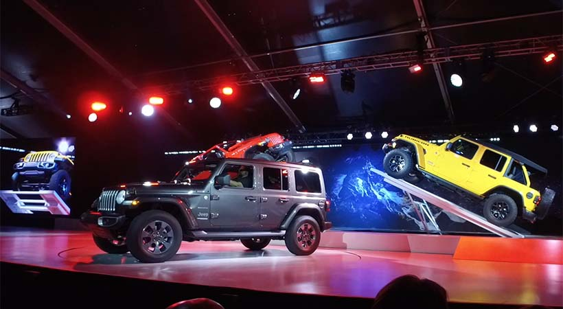 Video Jeep Wrangler 2018