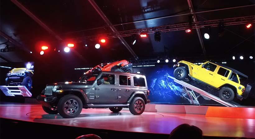 Video Jeep Wrangler 2018