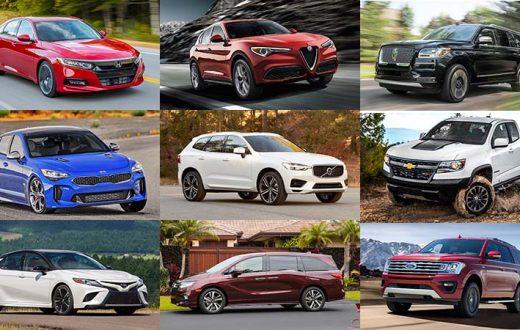 Finalistas Auto, Camioneta y Vehículo Utilitario NACTOY 2018