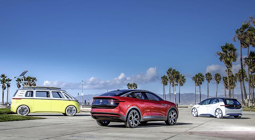 Futuro eléctrico Volkswagen en el Auto Show Los Angeles