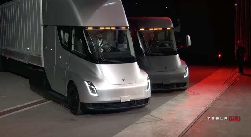 Tesla SEMI y Tesla Roadster, doble debut eléctrico
