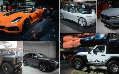 Video lo mejor de Auto Show Los Angeles