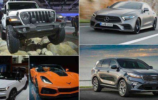 Top 5 mejores coches del Auto Show Los Angeles