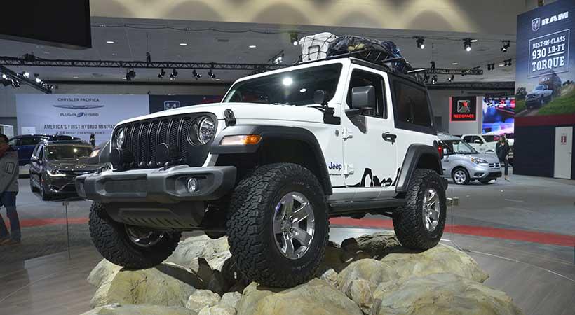 Nuevo Jeep Wrangler 2018, el todoterreno más deseado, auto show los angeles 2017, mejores autos jeep en Estados Unidos