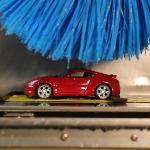 Nissan autolavado en miniatura, Centro Técnico de Nissan Norteamérica, Nissan mini car wash, Nissan miniature car wash