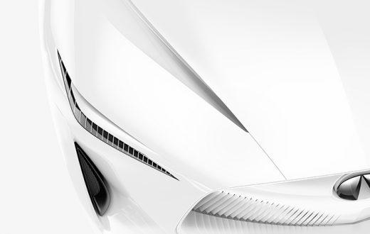 Infiniti Concept Car en el Auto Show Detroit 2018