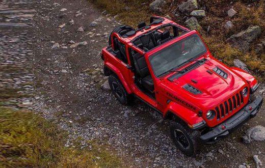Jeep Wrangler CES Las Vegas 2018