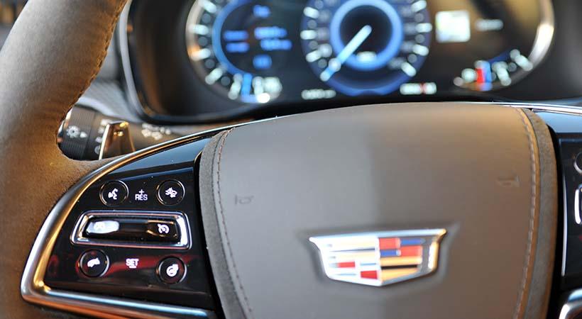 Test Drive Cadillac CTS V 2018
