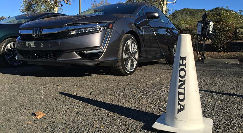 Test Drive Honda Clarity Plug-in Hybrid 2018