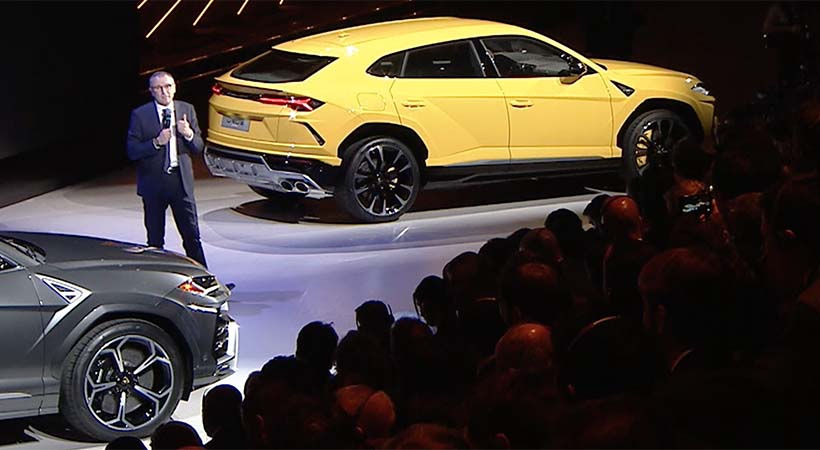 Video Debut Lamborghini Urus 2019