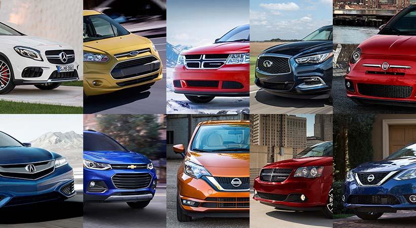Top 10 autos decepción 2017