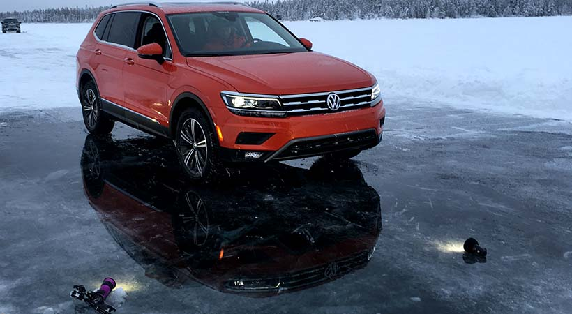 Video shoot extremo Volkswagen Tiguan 2018 en Canadá