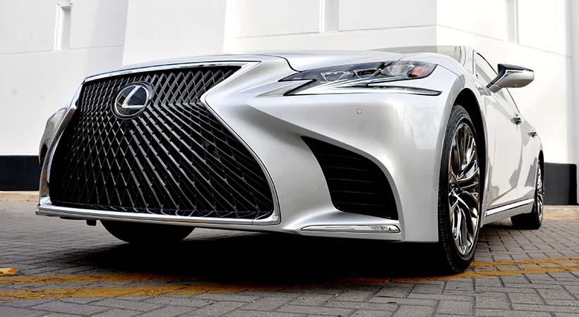 Test Drive Lexus LS 500 2018