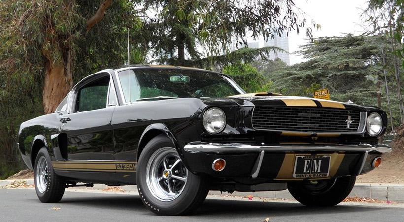 Top 10 Ford Mustang en películas