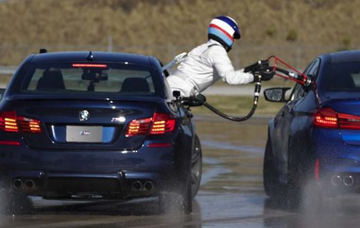 Doble récord Guinness BMW M5