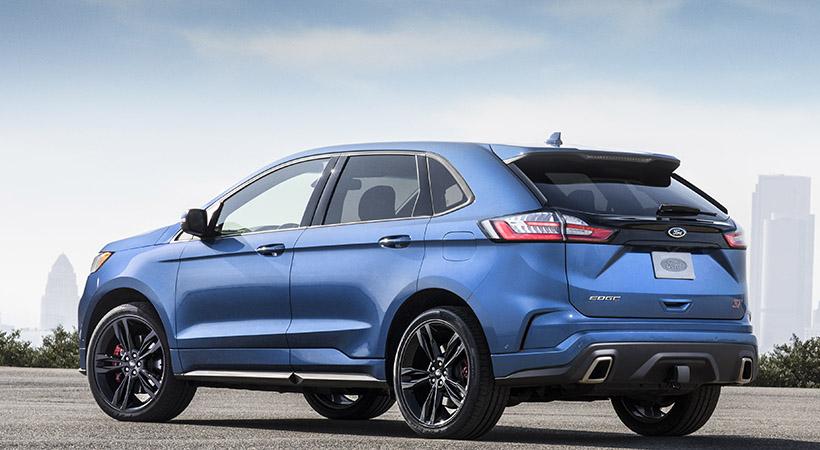 Ford Edge ST 2019 con Performance Package, información y fotos
