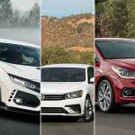 Top 5 mejores sedanes 2017 por Autoproyecto, Hyundai Accent Limited, Volkswagen Passat R-Line, Cadillac CT6 Platinum, Toyota Yaris iA, Honda Civic Type R